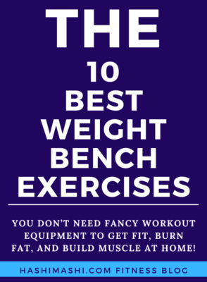 The 10 Best Weight Bench Exercises at Home + Workout Image Credit HashiMashi.com