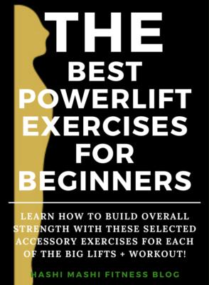 Powerlifting Exercises for Beginners + Workout Image Credit HashiMashi.com