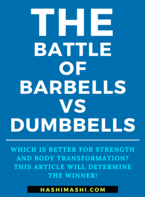 Barbell vs Dumbbell Which is Better for Strength & Body Transformation- Image Credit HashiMashi.com