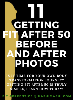 Getting Fit After 50 Before and After Photos - Credit - The Hashi Mashi Plan